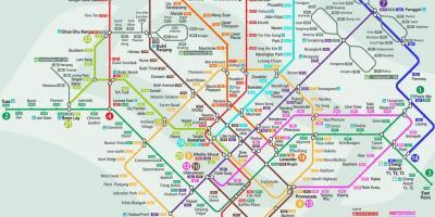 Singapore Kartta Kartat Singapore Singaporen Tasavalta